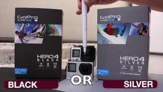 GoPro Hero 4 Black Vs Silver