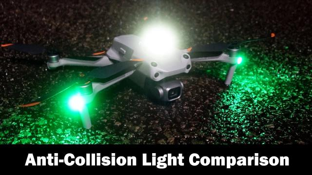 Anti-Collision Strobes for Drones at Night - VIFLY vs LUME CUBE