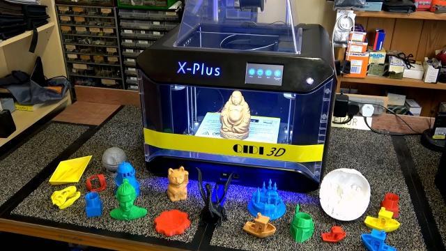 QIDI Tech X-Plus  Large Size 3D Printer Review