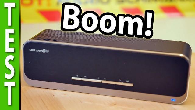 BlitzWolf BW-F4 Blutooth Speaker compared to Bose Soundlink mini II