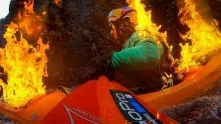 GoPro: The Kayak Fire Fall with Rafa Ortiz