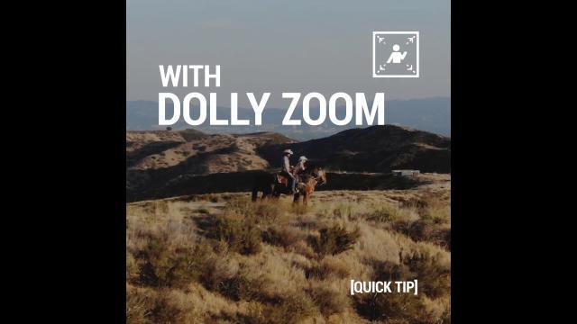 Mavic 2 Quick Tip 2 - Dolly Zoom