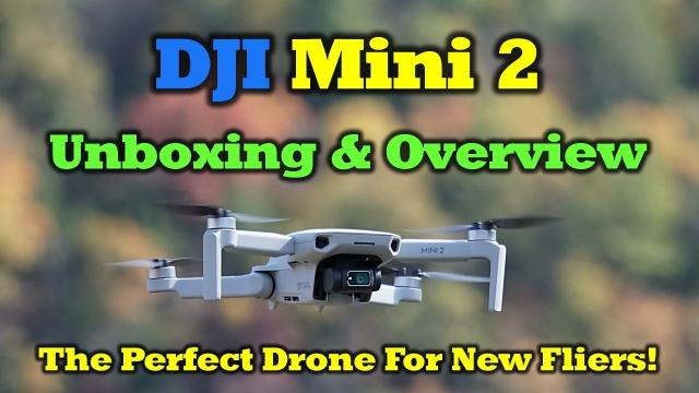 DJI Mini 2   Unboxing and Overview