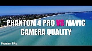 DJI PHANTOM 4 PRO vs DJI MAVIC - CAMERA QUALITY - and a short story