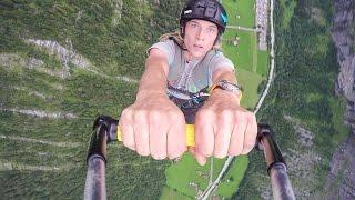 GoPro Awards: Rope Swing Paragliding the Swiss Alps