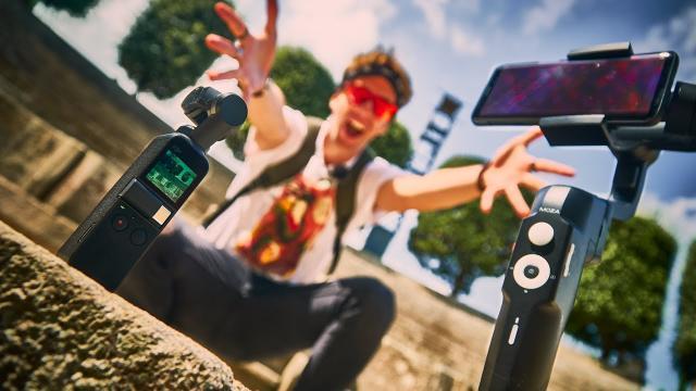 DJI Osmo Pocket or Smartphone Gimbal Moza Mini S?