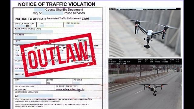 Can a Drone trigger a SPEED-TRAP Camera? - KEN HERON