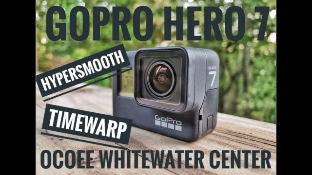 #GoPro #Hero7 checking out the Ocoee Whitewater Center!