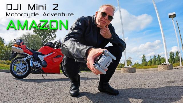 DJI MINI 2 Drone - Motorcycle Amazon Adventure