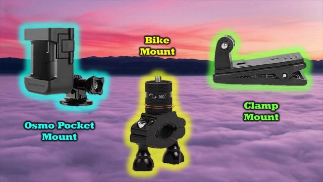 Top 3 Mounts For Your Action Camera