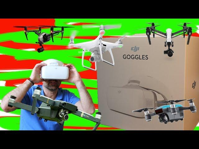 DJI Drone Goggles- in the bag or left on the shelf??