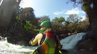 GoPro:  Shon Bollock Waterfall Drop - First Descent