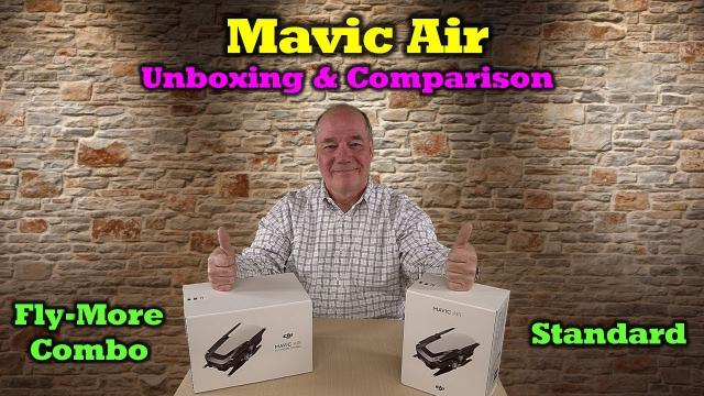 Mavic Air & Mavic Air Fly More Combo - Dual Unboxing and Comparison
