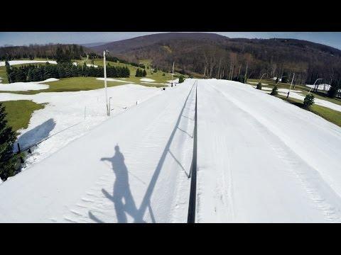 GoPro: Tom Wallisch Sets World Record For Longest Railslide