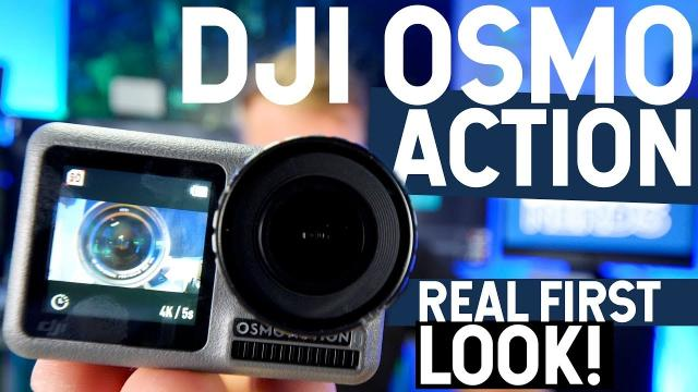 DJI OSMO ACTION! Real First Look!