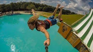 EPIC WATER SLIDE : BSR Royal Flush - Waco, Texas
