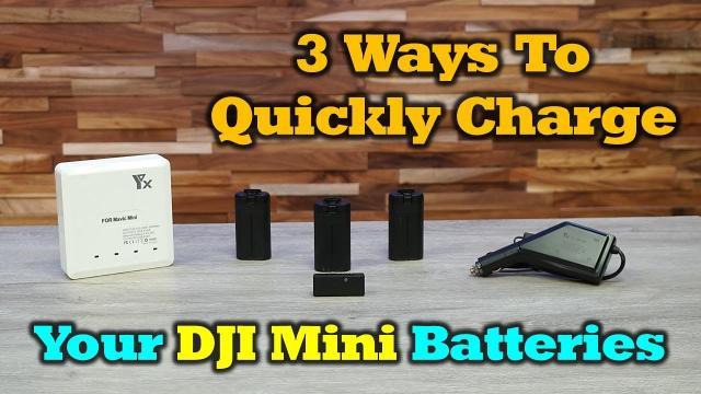 3 Great Ways To Charge Your Mavic Mini Batteries