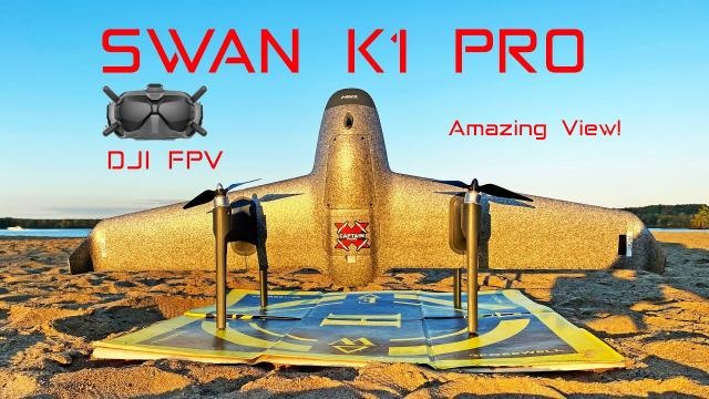 SWAN K1 PRO - DJI FPV version - So Sweet!