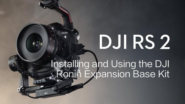 DJI RS 2 | How to Install and Use the DJI Ronin Expansion Base Kit