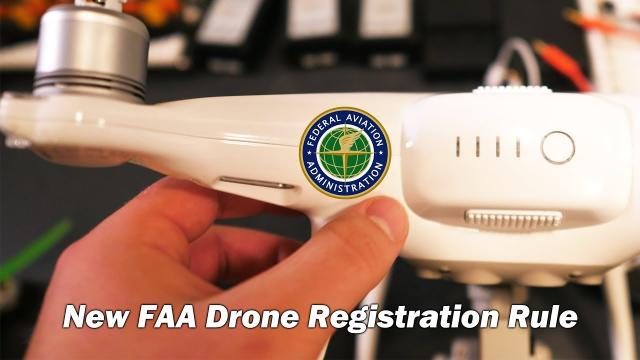 New FAA Drone Registration Rule: Mark it on the outside...