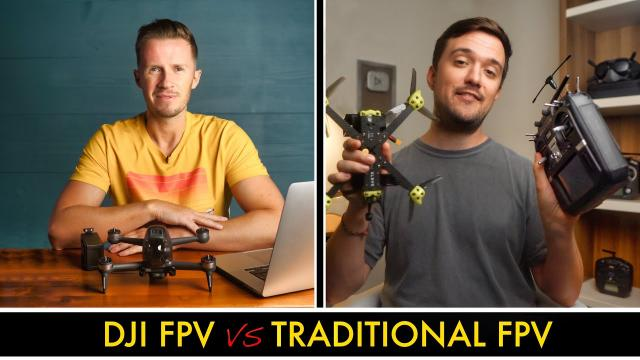DJI FPV vs Traditional FPV Drone - Which Is The Best Option For You? (ft. Matt Pochwat)