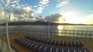 GoPro Timelapse Caribbean Island Cruise