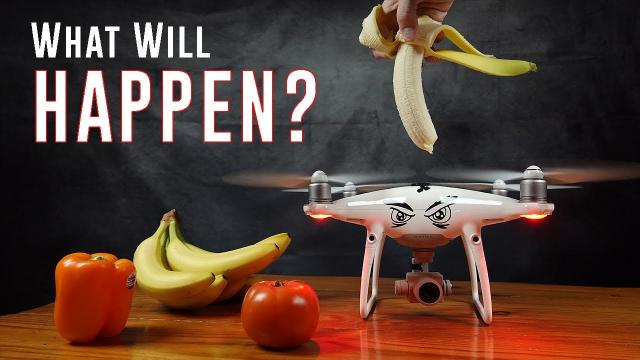 The Drone Food Processor (10,000 Frames Per Second)