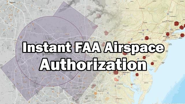 Instant Airspace Drone Authorization is COMING!