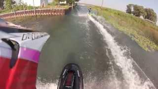 GoPro 2013 StandUp Jet Ski Freeride North Channel Lake St Clair