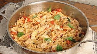 Caprese Chicken Pasta | Ep. 1285