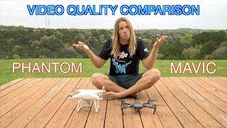DJI Phantom4 and Mavic Pro Video Quality Comparison!