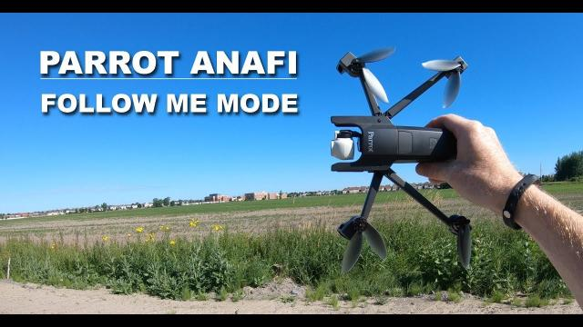PARROT ANAFI - Follow Me Mode - Is it worth it?