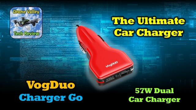 The Ultimate Car Charger - VogDuo 57W Charger Go