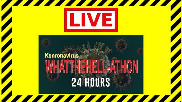 Charity 24-HOUR Livestream - The What-The-Hellathon - KEN HERON