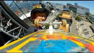 GoPro HD: Skate Big Air - Mitchie Brusco Course Preview - X Games 2012