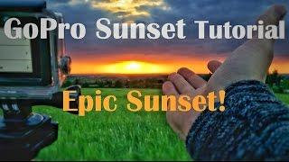 Epic GoPro Sunset | Timelapse Tutorial | GoPro