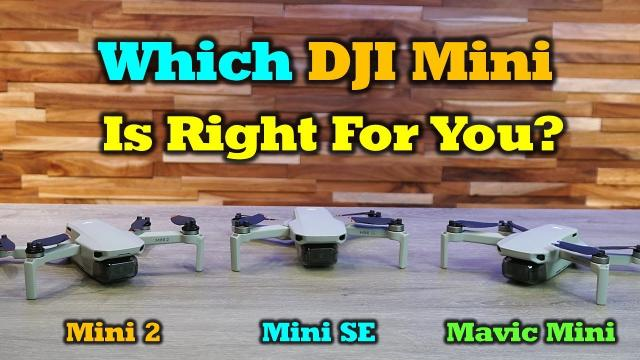 Which DJI Mini Drone Is Right For You?