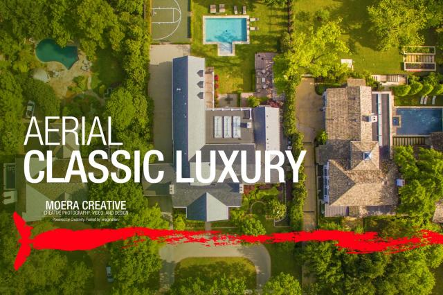 DJI Inspire 1 - Aerial over Classic Luxury Real Estate
