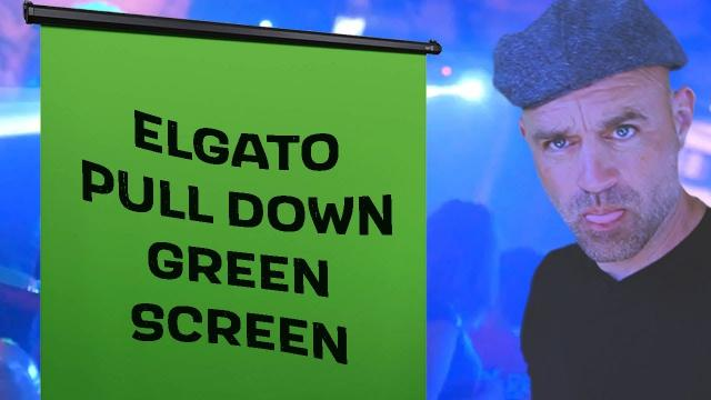 ELGATO Pull Down 2m Green Screen Review... Should you have one? And how to use it?