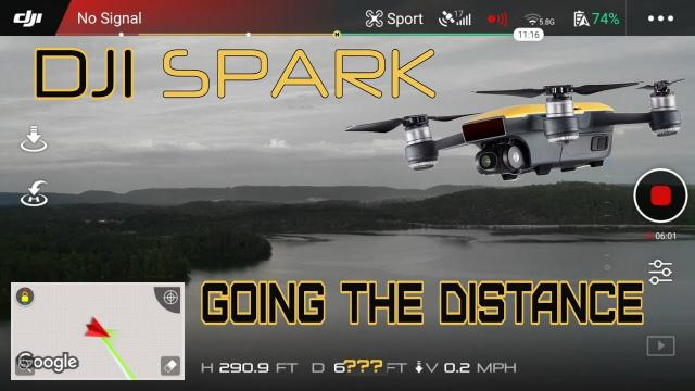 DJI SPARK  - TAKING IT TO THE LIMIT
