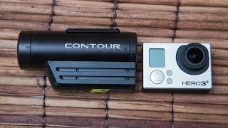 Contour Roam3 Vs GoPro Test Footage