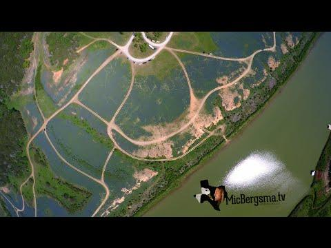 Bluebonnets - Muleshoe Bend, Spicewood, TX - DJI Phantom / GoPro