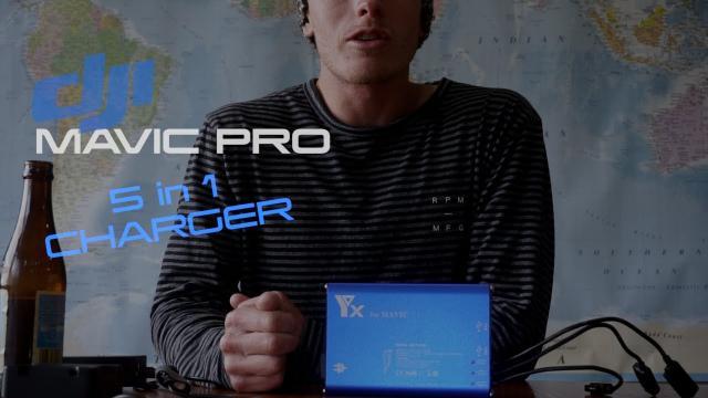 DJI Mavic Pro - 5 in 1 Charger