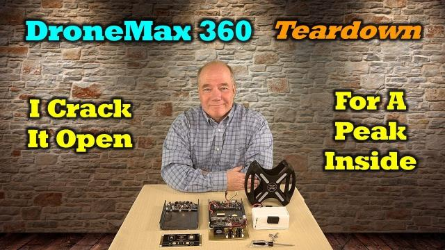 Energen DroneMax 360 Teardown - A Quick Look Inside!