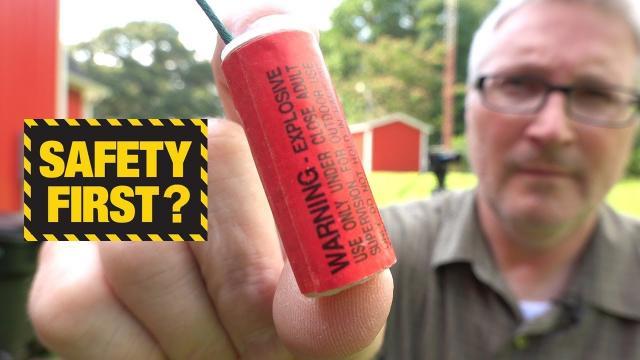 What happens if a Firecracker goes off in your HAND? (KEN HERON)