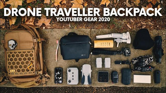 WHAT'S IN A DRONE TRAVELER BACKPACK IN 2020