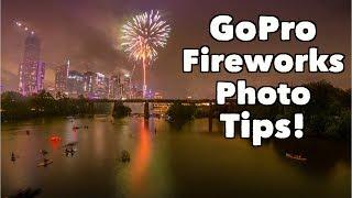 BEST GoPro Fireworks Photo Setting Tips! GoPro Tip #648 | MicBergsma