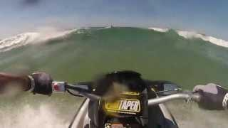 GoPro HERO3: Jet Ski Bassin D'Arcachon Aout 2013 Wave Jumping