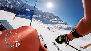GoPro Snow: Ted Ligety GS Ski Run with GPS Telemetry