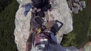 Rock Climbing Seneca Rocks - GoPro: Old Man's Route 6.9.13